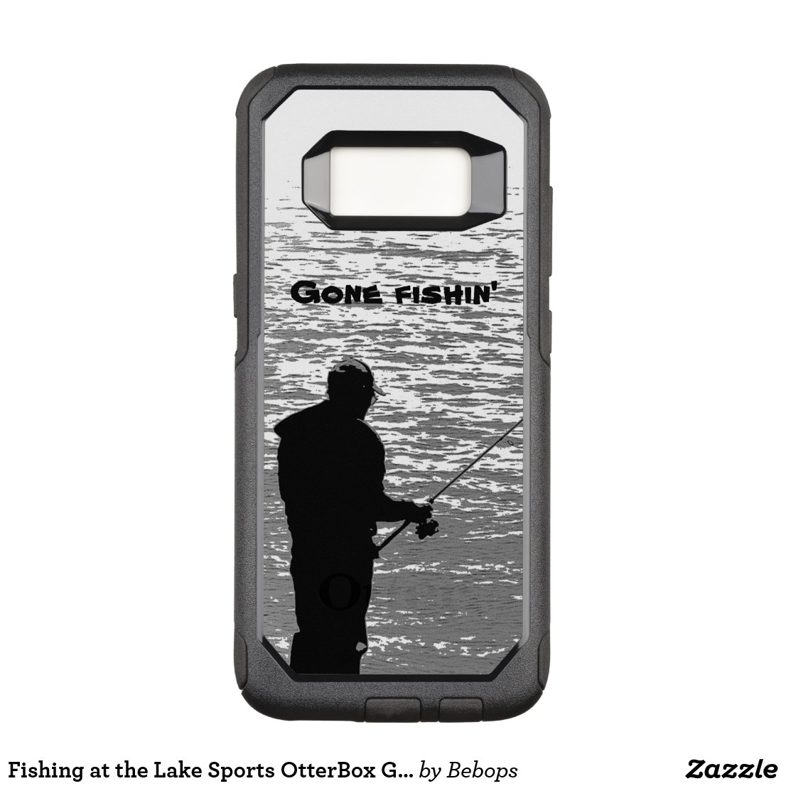 Fishing at the Lake Sports OtterBox Galaxy S8 Case