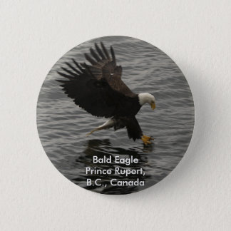 Fishing Bald Eagle Gift Set Button