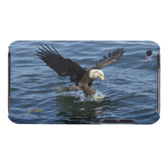 Fishing Bald Eagle & River Phone Case Barely There iPod Cases