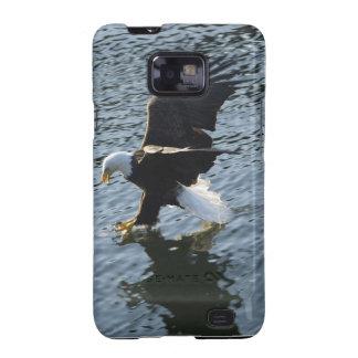Fishing Bald Eagle Samsung Case Samsung Galaxy Cover