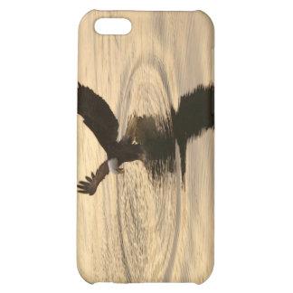 Fishing Bald Eagle & Sunset Ocean Nature Scene Case For iPhone 5C