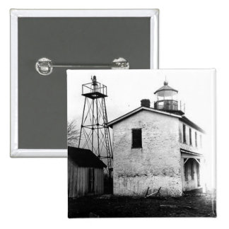 Fishing Battery Lighthouse Buttons