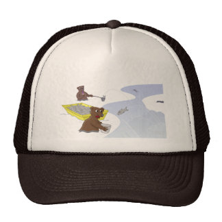 Fishing Bears - Jumping Salmon Hat