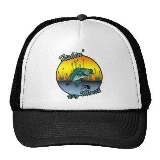 Fishing Big Mouth Fishing Shirts Trucker Hat