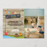 "Fishing Birthday Thank You Card Fishing party<br><div class=""desc"">♥ A beautiful way to thank your guests!</div>"
