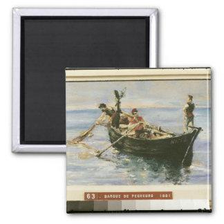 Fishing Boat, 1881 Refrigerator Magnets