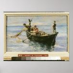 Fishing Boat, 1881 Poster