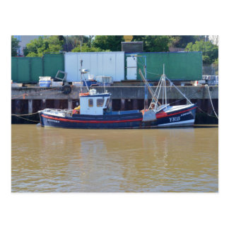 Fishing Boat Achievable YH15 Postcard