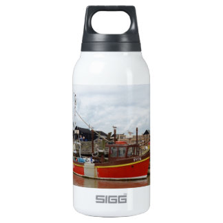 Fishing Boat Aquarius At Southwold Insulated Water Bottle