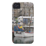 Fishing boat at downtown dock blackberry bold cover