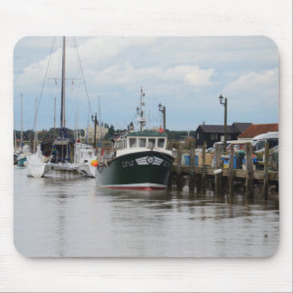 Fishing Boat Avril Rose Mouse Pad