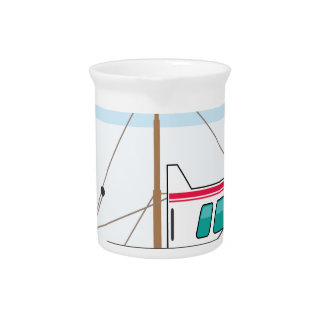Fishing Boat Beverage Pitcher