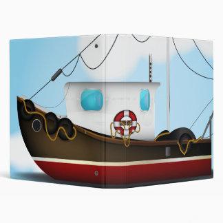 Fishing Boat Binder