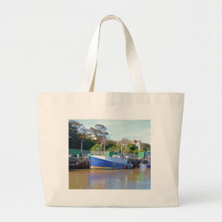 Fishing Boat Brocklesby Canvas Bag