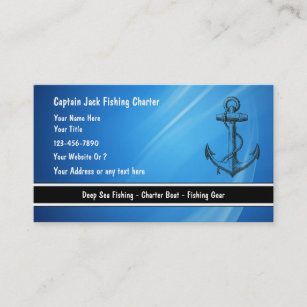 Fishing business cards templates zazzle fishing boat business cards colourmoves