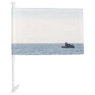 Fishing Boat Car Flag