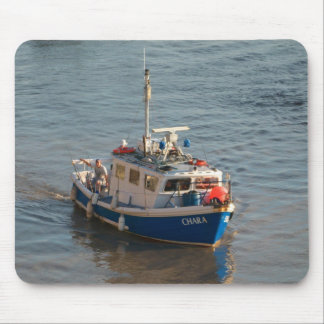 Fishing Boat, Cardiff Bay Mouse Pad