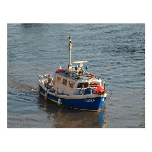 Fishing Boat, Cardiff Bay Postcard