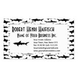 Fishing Boat Charter / Scuba Diver - Shark Pattern Business Card