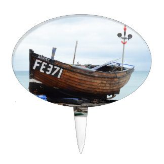 Fishing Boat Denise Cake Toppers
