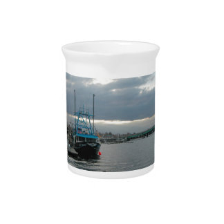 Fishing boat drink pitcher