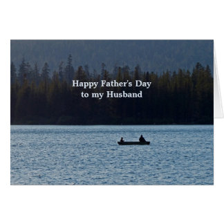 Fishing Boat Father's Day for Husband Card