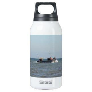Fishing Boat Girl Kayla Insulated Water Bottle