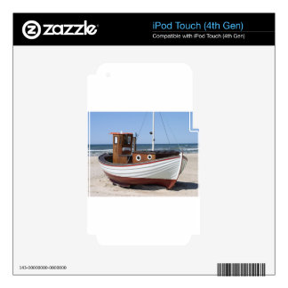 Fishing Boat Image Decal For iPod Touch 4G