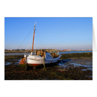 Fishing boat in Guernsey Card