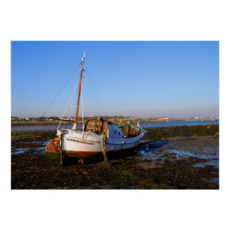 Fishing boat in Guernsey Poster