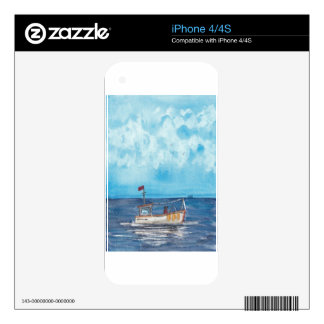 Fishing Boat iPhone 4S Skins