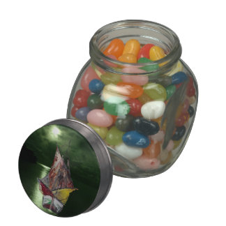 Fishing boat jelly belly candy jars