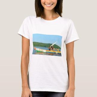 FISHING BOAT Lake Victoria Kenya T-Shirt