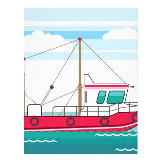 Fishing Boat Letterhead