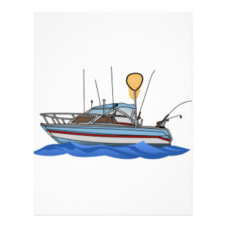 Fishing Boat Letterhead