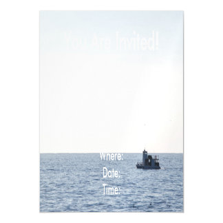 Fishing Boat Magnetic Card