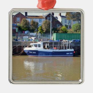 Fishing Boat MN 209 Metal Ornament