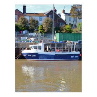 Fishing Boat MN 209 Postcard