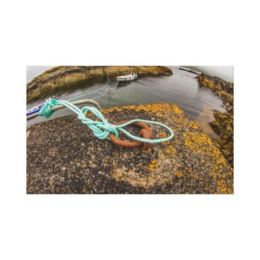 "Beach Themed ""Fishing boat mooring, Ireland"" wall art"