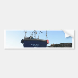 Fishing Boat Oliver Henry Bumper Sticker