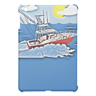 Fishing Boat on the High Seas Cover For The iPad Mini