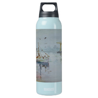 Fishing Boat on the Tyne Liberty Insulated Water Bottle