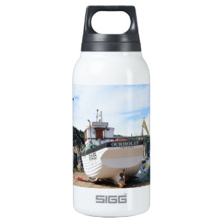 Fishing Boat Our Holly Insulated Water Bottle