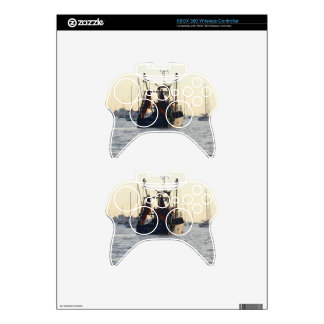 Fishing Boat Peace And Plenty At Dawn Xbox 360 Controller Decal