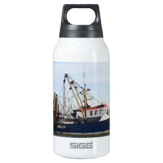 Fishing Boat Peace And Plenty Insulated Water Bottle