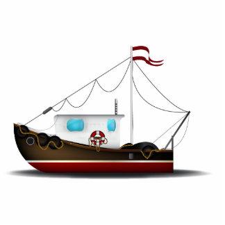 Fishing Boat Photo Sculpture