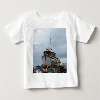 Fishing Boat Polar Bear Baby T-Shirt