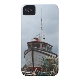 Fishing Boat Polar Bear Case-Mate iPhone 4 Cases
