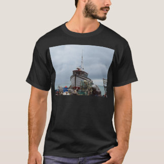 Fishing Boat Polar Bear T-Shirt