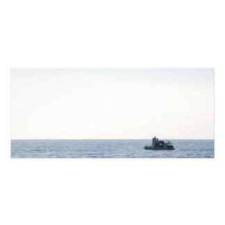 Fishing Boat Rack Card